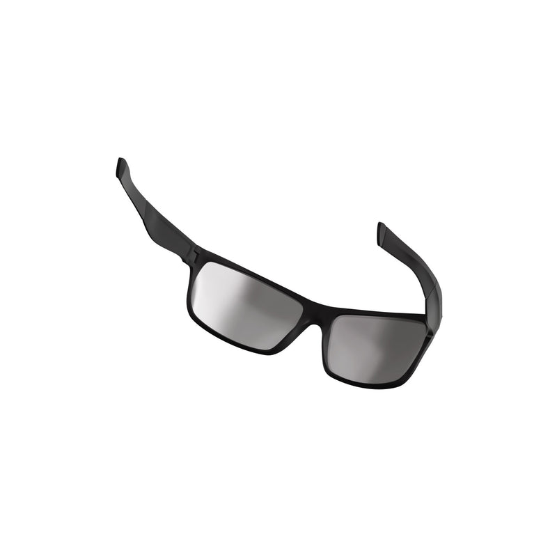 VeloChampion Transition Casual Sunglasses Matt Black/Brown with Smoke Lens