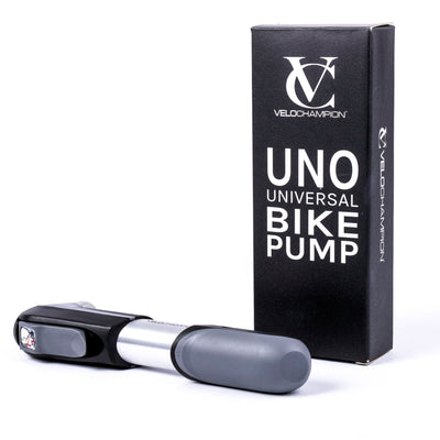 Starter Package: UNO Pump + MLT10 Multi Tool + Standard Tyre Levers + 6x Repair Patches