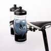 Double Water Bottle Cage Mount - Alloy Black for Cycling Triathlon Bike