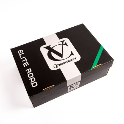 VC Maxgear Elite Road Cycling Shoes Suitable for SPD or 3 bolt cleats - Available in Black or White
