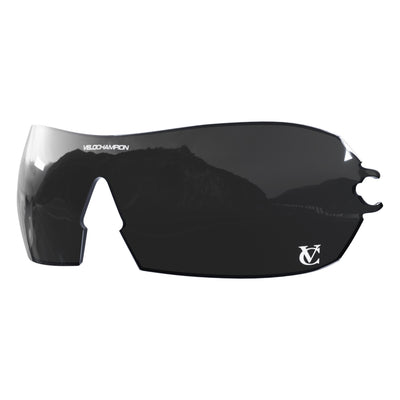 Customisable Hypersonic cycling sunglasses black lens | VeloChampion