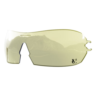Customisable Hypersonic cycling sunglasses yellow lens | VeloChampion