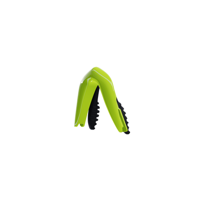 Customisable Hypersonic cycling sunglasses green nose piece | VeloChampion