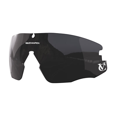 Customisable Missile cycling sunglasses smoke black lens | VeloChampion