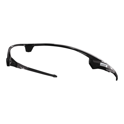 Customisable Missile cycling sunglasses black frame | VeloChampion