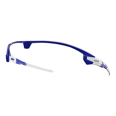 Customisable Missile cycling sunglasses blue frame | VeloChampion