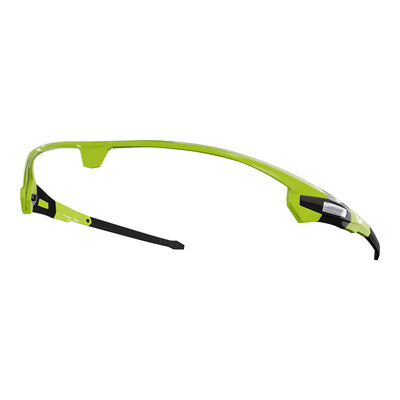 Customiable Missile cycling sunglasses green frame | VeloChampion