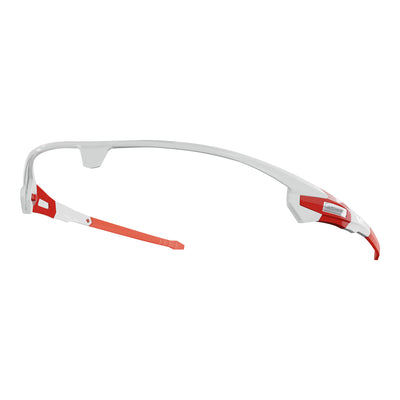 Customisable Missile cycling sunglasses white frame | VeloChampion