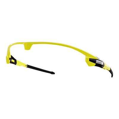 Customisable Missile cycling sunglasses yellow frame | VeloChampion