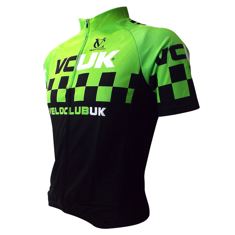 VCUK Men's short Sleeve Jersey - Club Cut - Velochampion