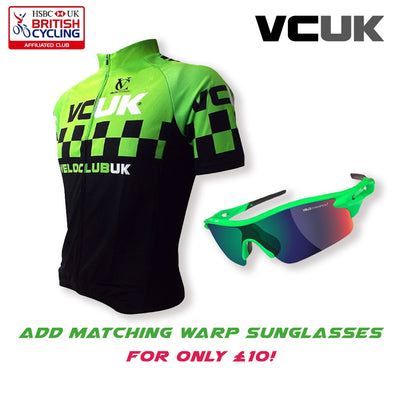 VeloClub UK (VCUK) Club Membership with FREE Team Cycle Jersey - Velochampion