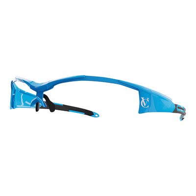 Vortex customisable cycling glasses blue frame | VeloChampion