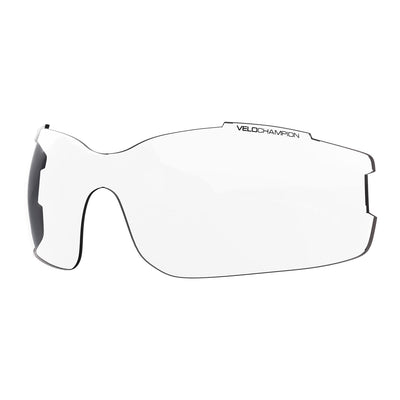Vortex customisable cycling glasses clear lens | UV400 protection | VeloChampion