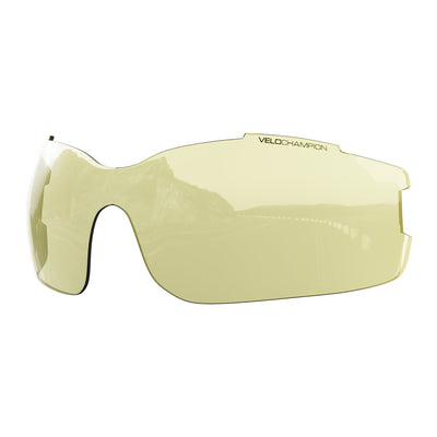 Vortex customisable cycling glasses yellow lens | UV400 protection | VeloChampion