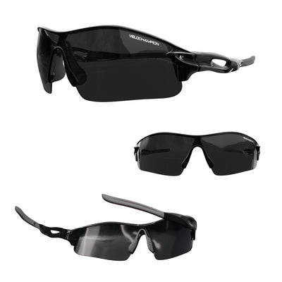 Warp Cycling, Running, Sports Sunglasses + 2 lenses. 7 colour Options