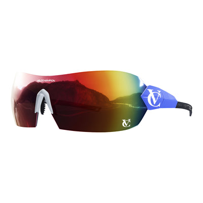 VeloChampion Blue HYPERSONIC™ Custom Sunglasses