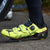 VELOCHAMPION VCX Cycling Shoes (pair) with Carbon Fibre Soles - Fluoro Yellow/Black