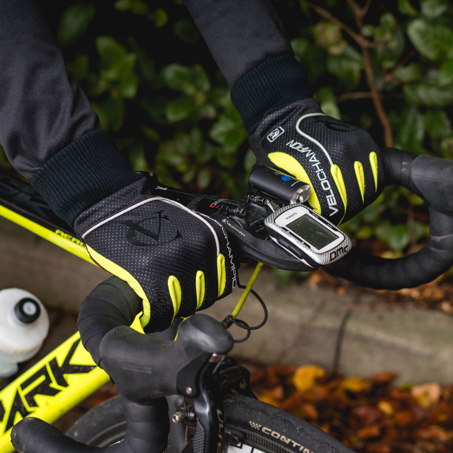 VeloChampion Autumn Windproof/Showerproof Cycling Gloves - Velochampion
