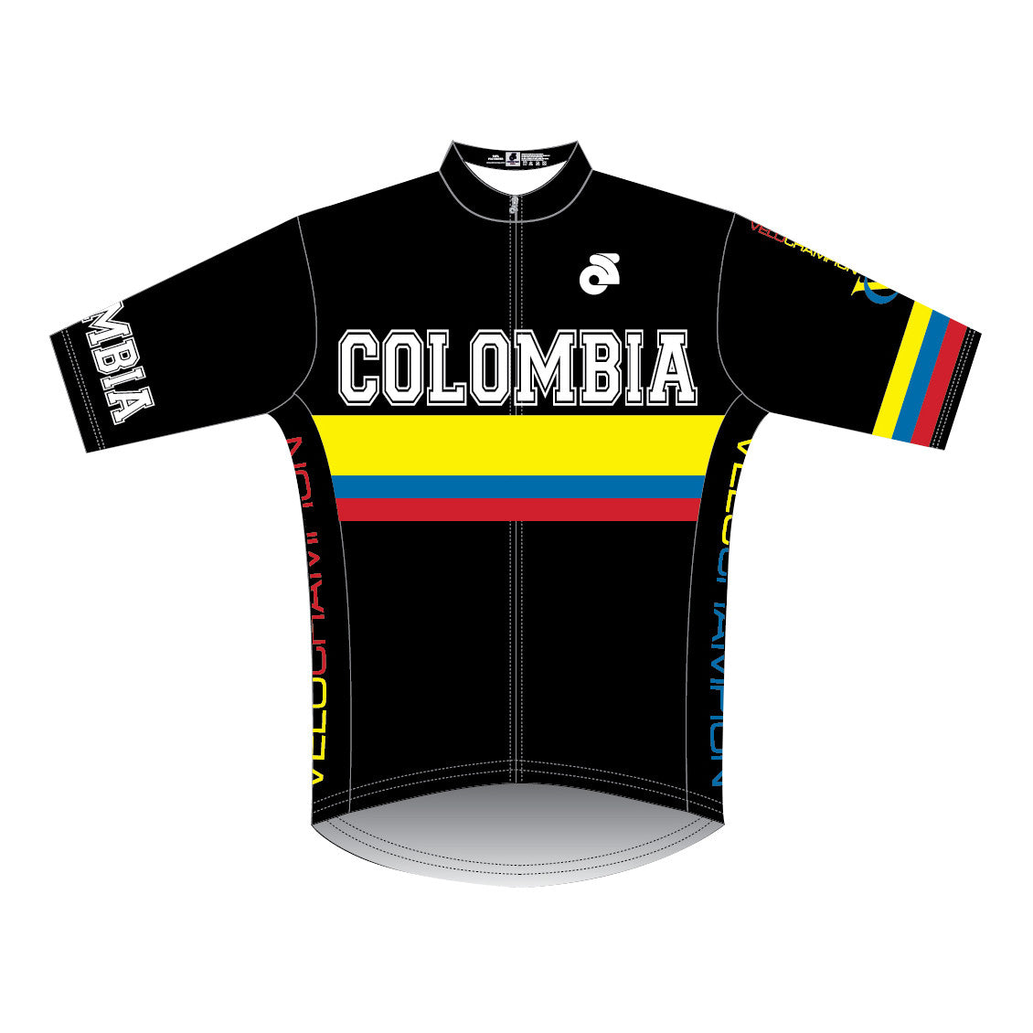 VeloChampion Short Sleeve Colombia Club Cut Jersey - Velochampion
