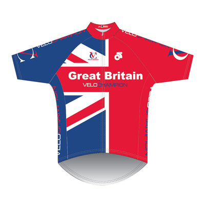 VeloChampion Short Sleeve Great Britain Club Cut Jersey - Velochampion