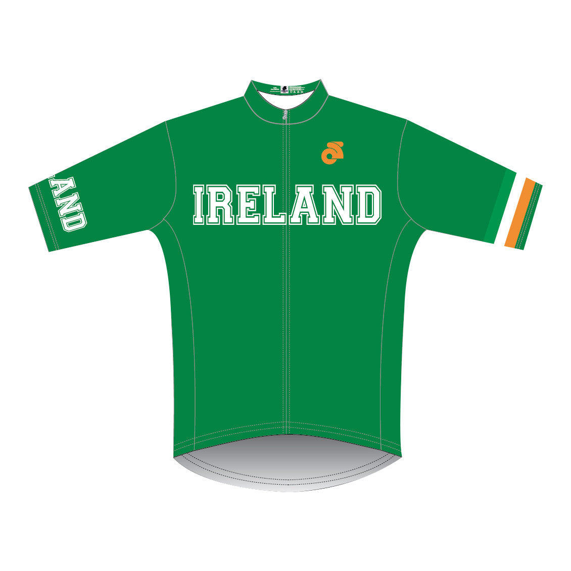VeloChampion Short Sleeve Ireland Club Cut Jersey