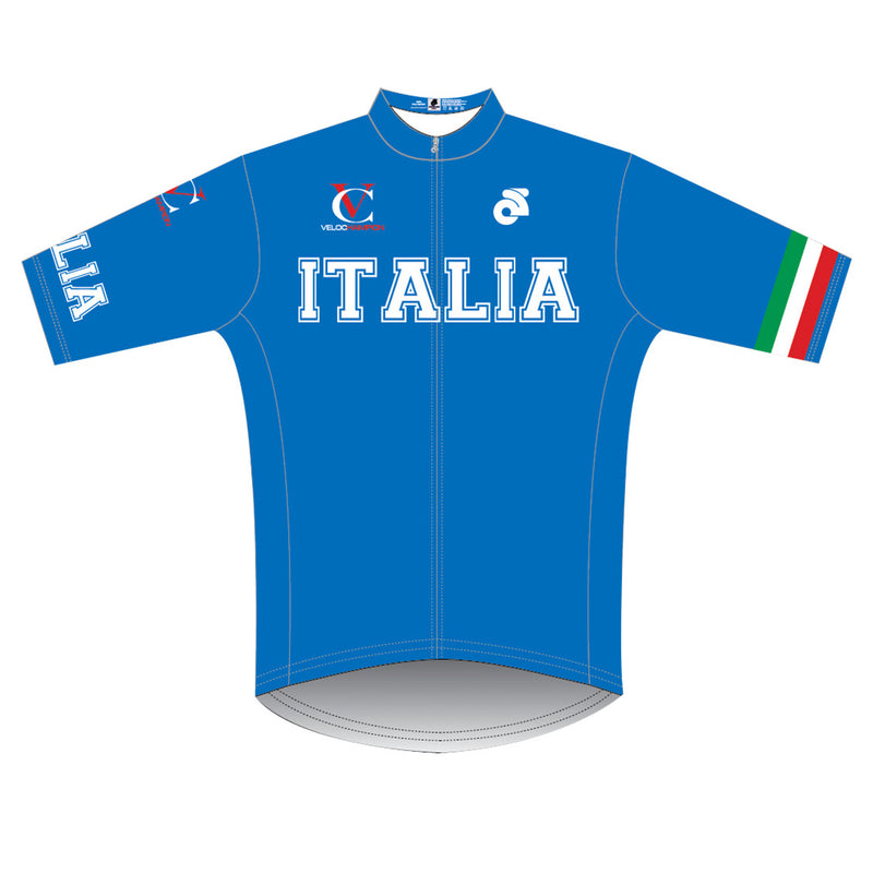 VeloChampion Short Sleeve Italy Club Cut Jersey - Velochampion