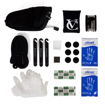 VeloChampion Survival Kit with 700c x 18/25 Presta Inner Tube - Velochampion