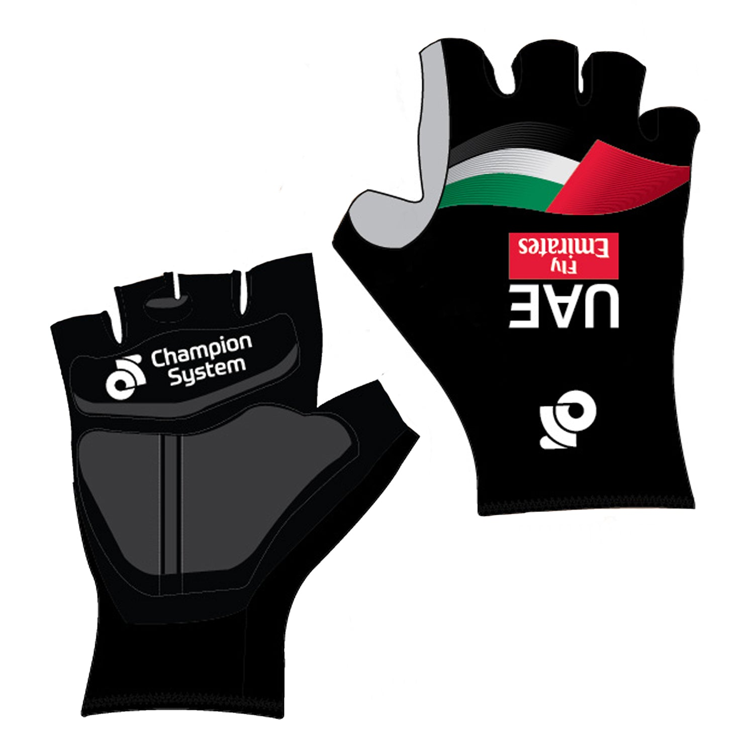 U.A.E. Team Emirates Summer Race Mitt / Glove - Velochampion