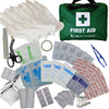 110 Piece Premium First Aid Kit Bag - for Home, Office, Car - Velochampion