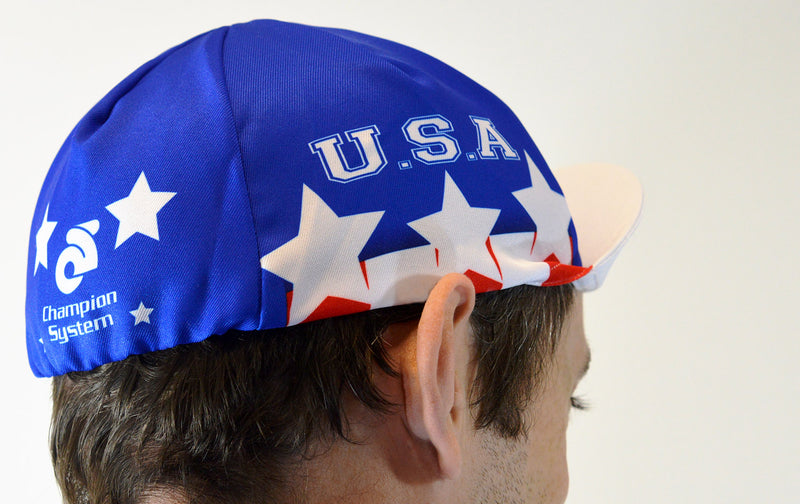 VeloChampion USA Cycling Euro Cap