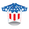 VeloChampion Short Sleeve USA Club Cut Jersey (Medium)
