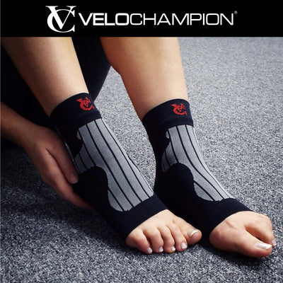 Ankle Support Socks VeloChampion Helps to Improve Plantar Fasciitis Foot Conditions