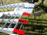 "16' long x 16"" wide, 8500 pound capacity set of 2 ramps"