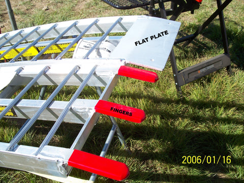 "5' long x 32"" wide, 2500 pound capacity set of 2 ramps"