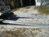 10 Foot Long, 12 Inch Wide, 3000 Pound Capacity Ramps - Dambach Ramps - aluminum ramps for all equipment