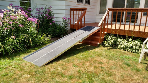 PVI 12 Foot Long, 30 Inch Wide, Multifold Ramp