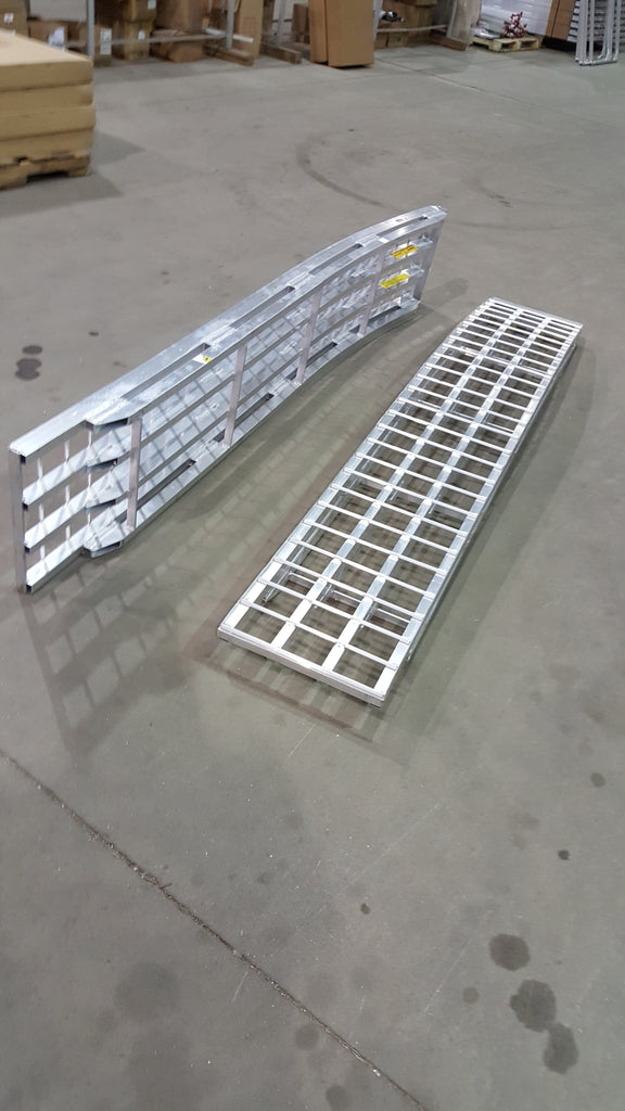 8 Foot Long, 16 Inch Wide, 6000 Pound Ramps - READY TO SHIP