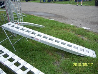 "7'10"" Long x 15"" Wide Car Hauler Ramps for Take Three Trailers and more - Dambach Ramps - aluminum ramps for all equipment"