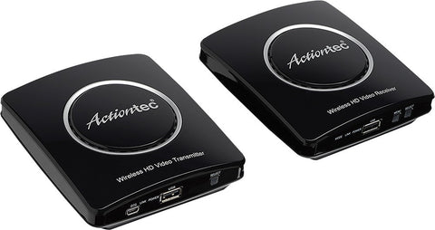 Actiontec - MyWirelessTV2 Wireless Video Transmitter and Receiver - Black - Dambach Ramps - aluminum ramps for all equipment