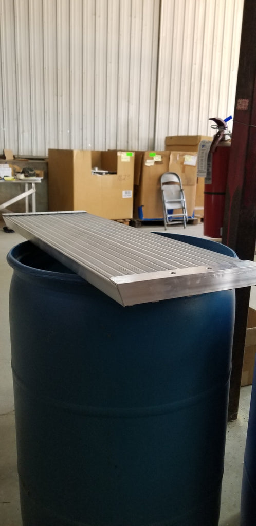 Tread ONLY for Aluminum Steps - Dambach Ramps - aluminum ramps for all equipment