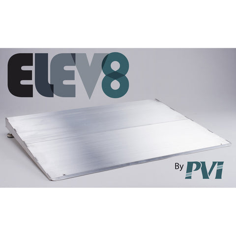 "Elev8 Aluminum Threshold Ramp - 32"" Wide - Dambach Ramps - aluminum ramps for all equipment"