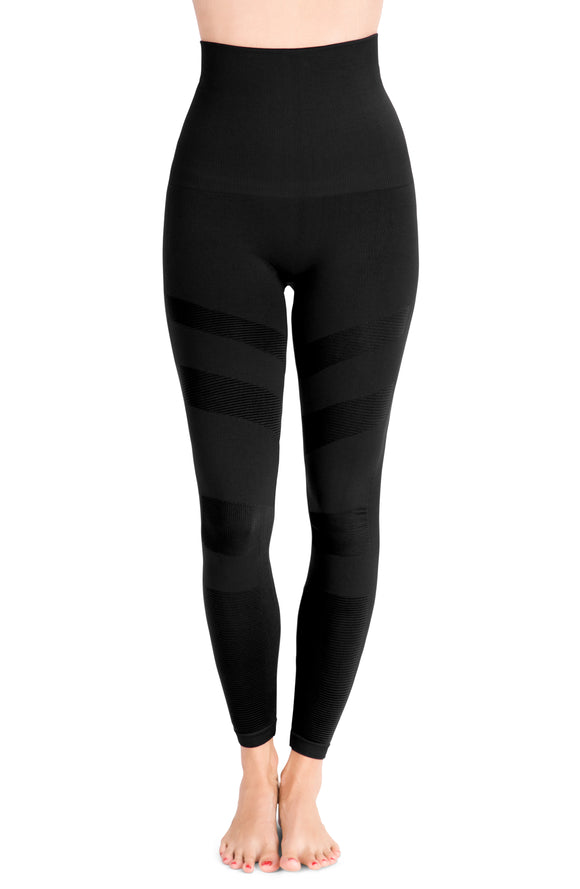 Belly Bandit Mother Tucker® Moto Style Leggings