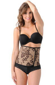 Belly Bandit Couture Black Lace Print