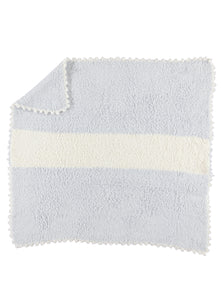 Barefoot Dreams 517 CozyChic Striped Receiving Blanket