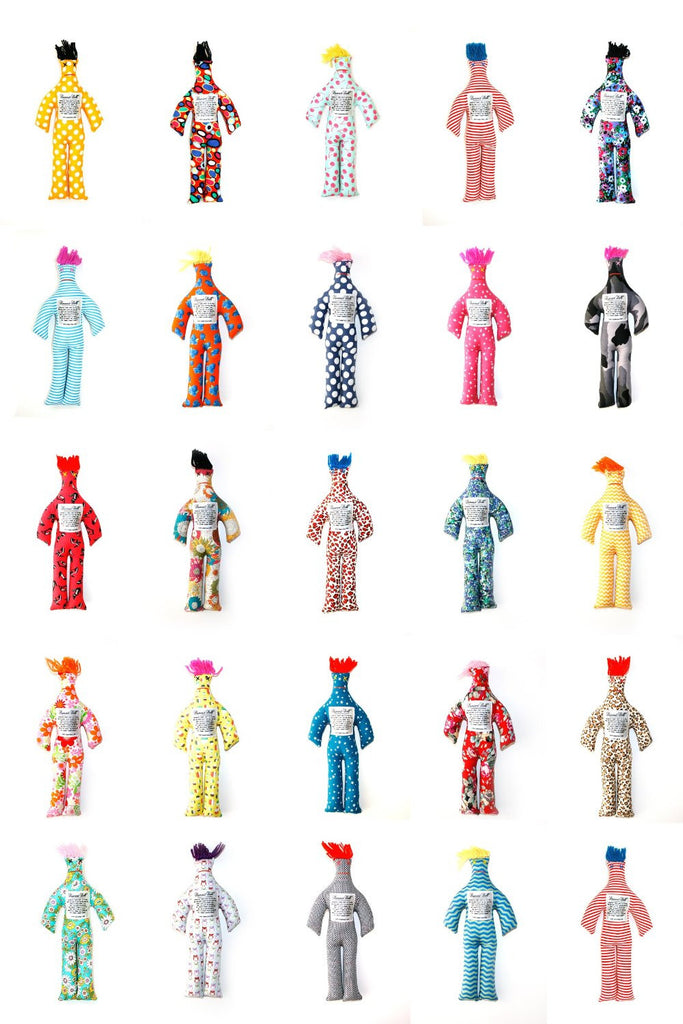 Dammit Doll (Patterns May Vary. Ship Randomly)