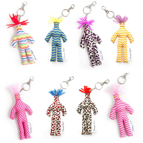 Dammit Doll The Key Chain (Pattern May Very. Ship Randomly)
