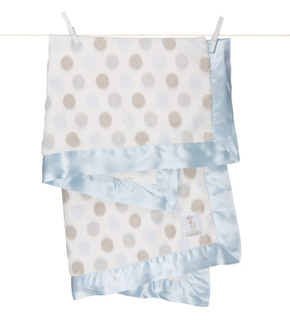 Little Giraffe Luxe Dot Baby Blanket