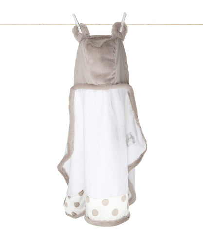 Little Giraffe Luxe New Dot Towel With Ears