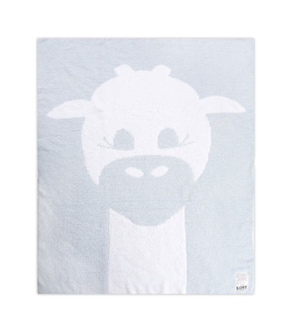 LOVE by Little Giraffe Cloud Knit Baby Blanket
