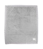 LOVE by Little Giraffe Posh Satin Baby Blanket